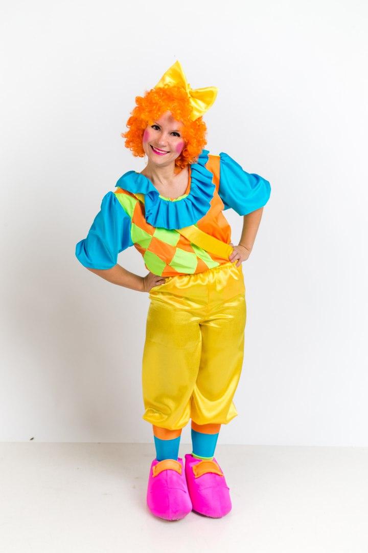 Пуговка клоунесса