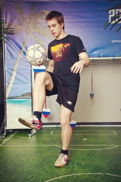 Фристайл с мячом