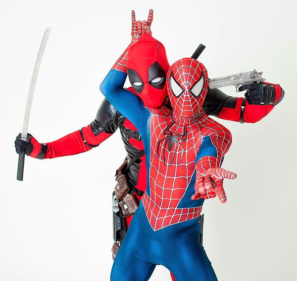 VIP Человек паук — Акробатическое шоу