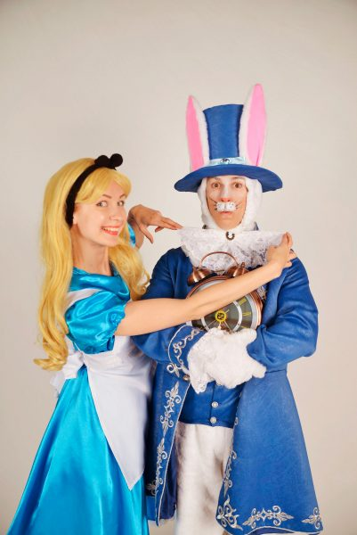 REAL Алиса и Кролик Мактвист