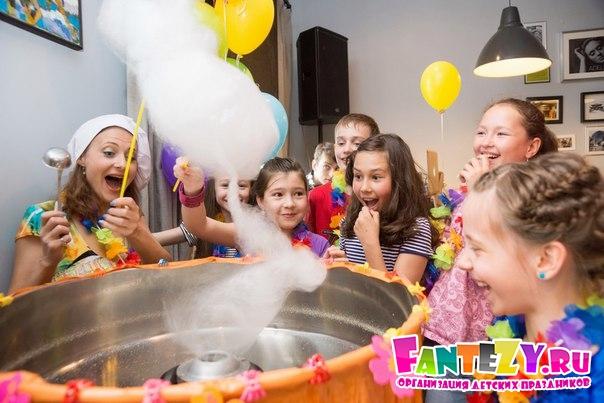 организация детских дней рождений от компании Фэнтези