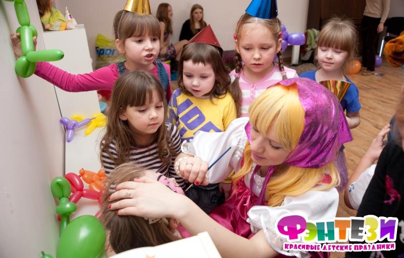организация детских праздников в детском саду