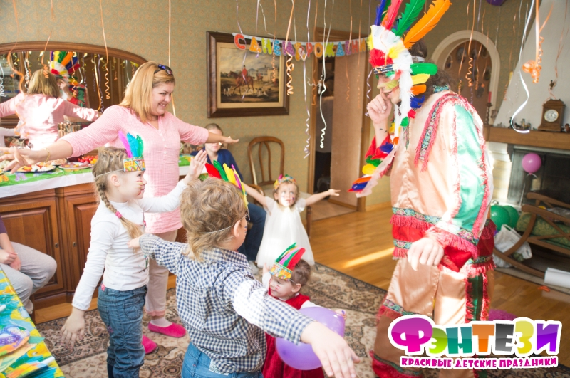 организация детского дня рождения на дому