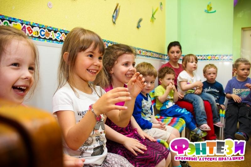 проведение дня рождения в детском саду