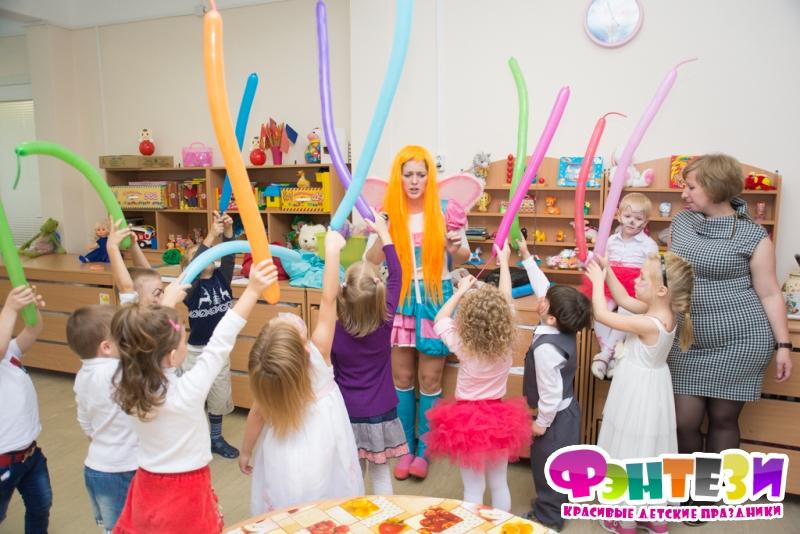 моделирование из воздушных шаров в детском саду