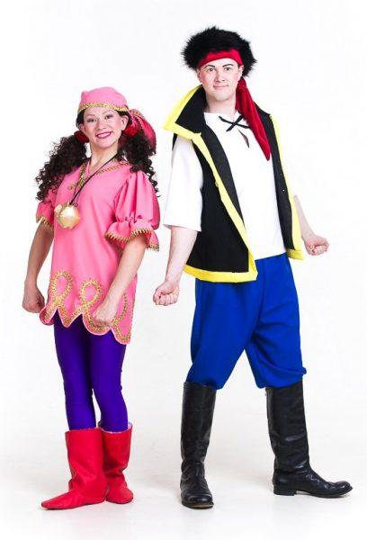 Пираты Нетландии Джейк и Иззи